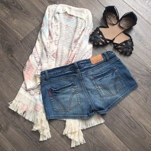 VINTAGE O'Neill distressed shortie ~Size 7